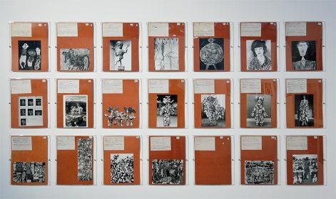 Fiches d'oeuvres, le Grand Fichier - L'outil photographique Rencontres Arles 2017