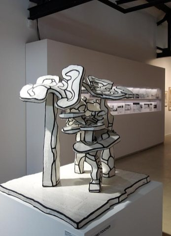 Jean Dubuffet, Groupe des Quatre Arbres, maquette d'aout 1970 - L'outil photographique Rencontres Arles 2017