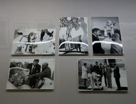 Kurt Wyss, Reportage sur la visite de David Rockefeller dans les ateliers de Périgny-sur-Yerres - L'outil photographique Rencontres Arles 2017