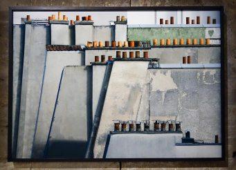 Michael Wolf, La vie dans les villes - «Paris Rooftops» (2014)