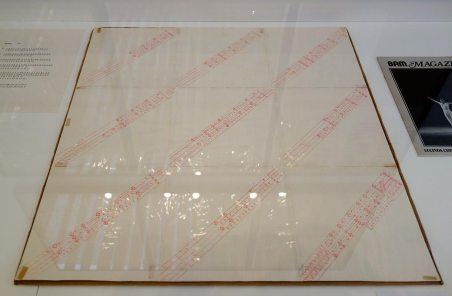 Lucinda Childs, Partition chorégraphque pour Katema, 1978 - A different way to move - Minimalismes 01
