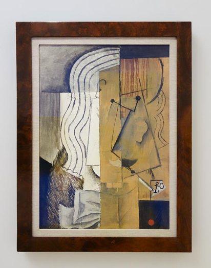 Passion de l'art, galerie Jeanne Bucher Jaeger depuis 1925 au Musée Granet - Picasso, Tête d'homme, 1913