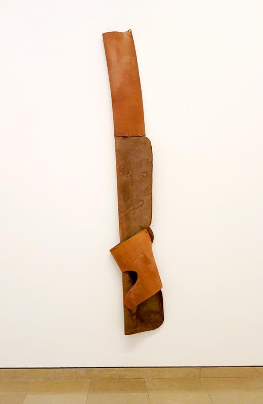 Richard Serra, Slant Step Folded, 1967 - A different way to move - Minimalismes
