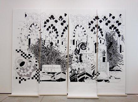 Marion Tampon-Lajarriette - Galerie Laurence Bernard (Genève) - Drawing room 017 - La Panacée Montpellier
