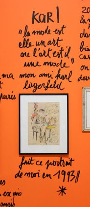 Dessin-Destin, Collection Jean-Charles de Castelbajac, Karl Lagerfeld - Drawing room 017 - La Panacée Montpellier