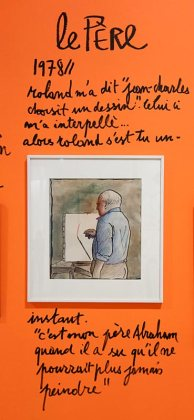 Dessin-Destin, Collection Jean-Charles de Castelbajac, Roland Topor - Drawing room 017 - La Panacée Montpellier