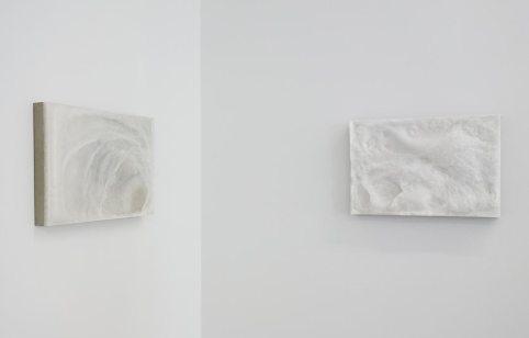Jean-Baptiste Caron, Dans la mesure du saisissable, (tentative n°3) et (tentative n°4), 2015 - White Spirit à la galerie ALMA
