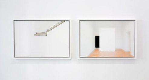 Luca Gilli, Blank (3), 2011 et Sans titre (4), 2013 - White Spirit à la galerie ALMA