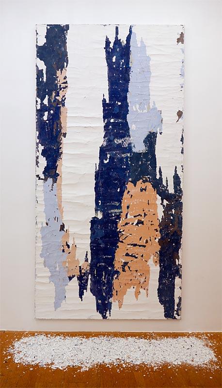 Manoela Medeiros, Ruine I, 2017 - Falling Walls - Double V Gallery