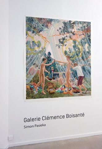 Simon Pasieka - Galerie Clémence Boisanté (Montpellier) - Drawing room 017 - La Panacée Montpellier