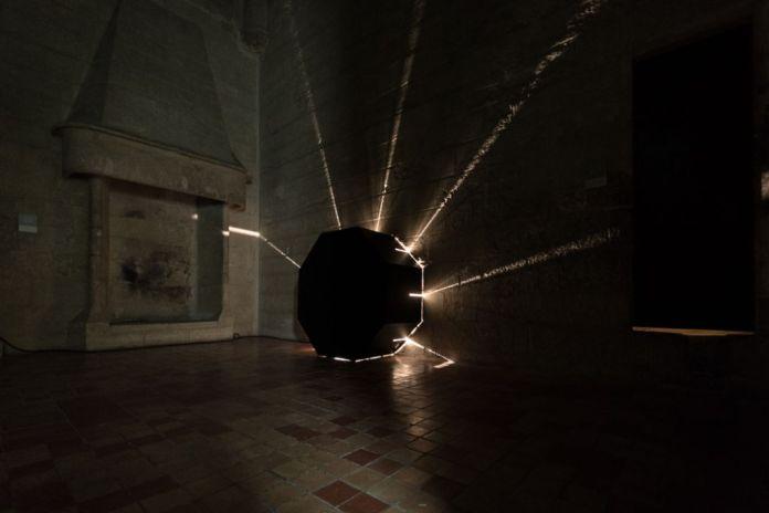 AILO «Light is more» au Château de Tarascon - Light Experience. Photo Fabrice Leroux
