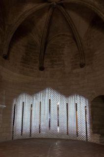 AILO «Light is more» au Château de Tarascon - Lignt Motion. Photo Fabrice Leroux