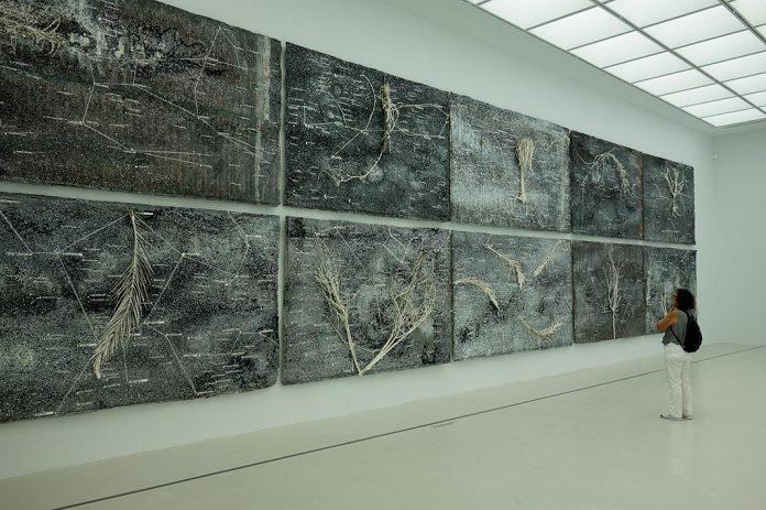 Anselm Kiefer, La vie secrète des plantes (2001-2002) - exposition à la Collection Lambert