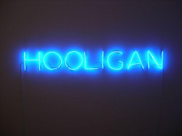 """Claude Leveque, Hooligan, 2006. ADAGP Paris 2017. Courtesy the artist and Kamel Mennour Paris London - Exposition """"Nous sommes Foot"""" au Mucem - Marseille"""