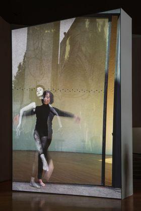 El Eco, 2014, 35 mm film transferred to HD, Duration 11 min. 18 sec. (loop), Projected dimensions variable, Installation view, Museo Experimental El Eco, San Rafael