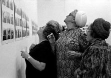 Jacques Charlier, photographies de vernissage, 1975