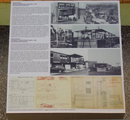 Jean Prouvé - Architecte des jours meilleurs - LUMA Arles - Maison démontable Ferembal, 1948