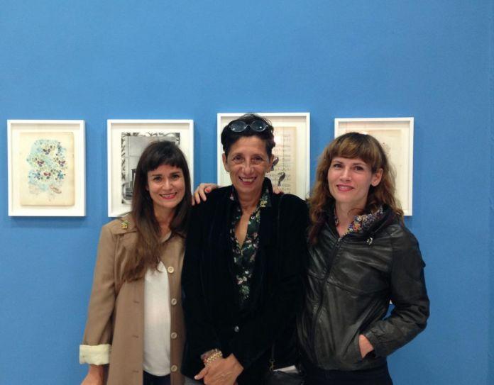 Gaëlle Hippolyte et Lina Hentgen avec Sylvie Guiraud - «Friture sur la ligne». Iconoscope à Montpellier