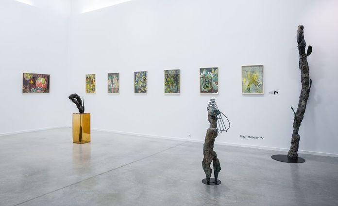 Hadrien Gérenton, Drawing room 2017. Photo Galerie chantiersBoîteNoire