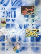 Hippolyte Hentgen, de la série «1,2,3», 2017 collage sur papier 30,9 x 23,7 cm. © Hippolyte Hentgen