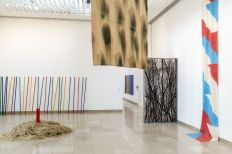 Supports-Surfaces Les origines 1966-1970 - Carré d'Art, Nîmes - Salle 4 © C. Eymenier
