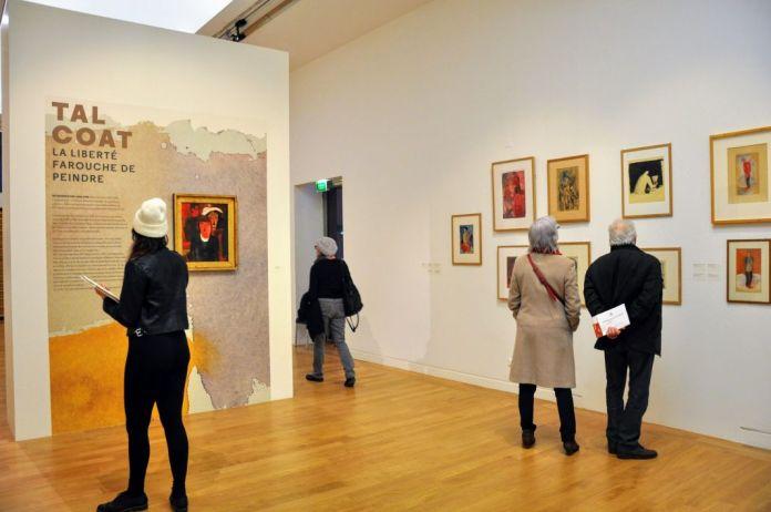 Tal Coat – La liberté farouche de peindre - au Musée Granet - Vue de l'exposition © photo Musée Granet