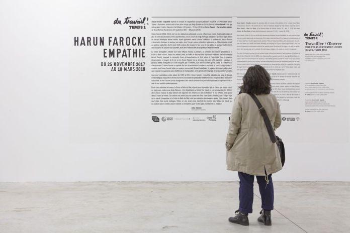 Vue d'exposition «Harun Farocki - Empathie», Friche la Belle de Mai, 2017 ®jcLett 02