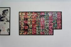 Vue d'exposition art-cade x 25ans. Edouard Nono, Les artichauts, photo, 1992