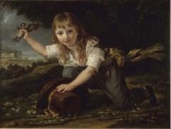 Antoine-Jean Gros, Portrait de Paulin des Hours Farel, 1793, huile sur toile, Rennes, musée des beaux-arts