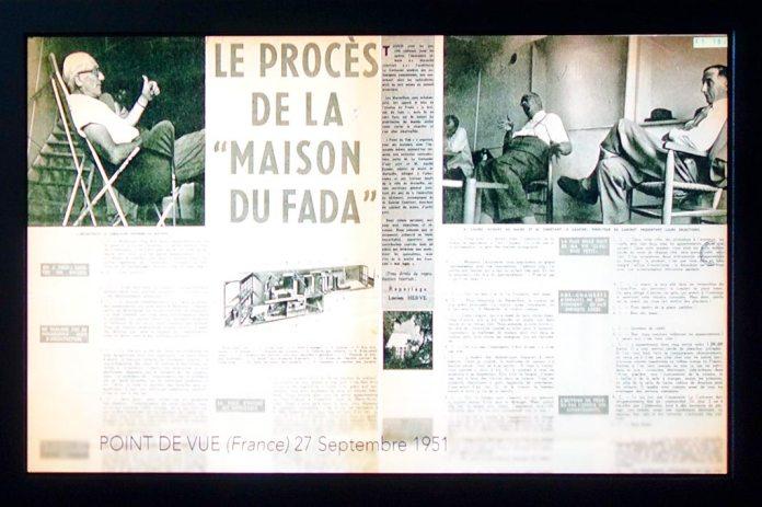 La Cité radieuse de Marseille, vue par la presse. Archives Fondation Le Corbusier, 1947-2006 - Connectivités au Mucem - La Méditerranée aujourd'hui