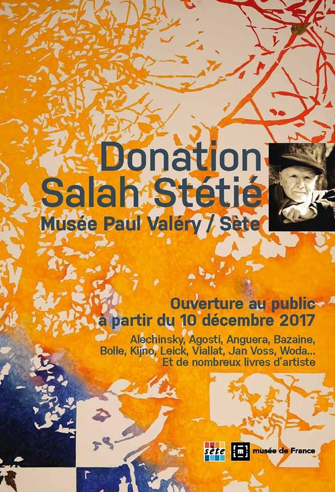 Salle Salah Stétié au Musée Paul Valéry