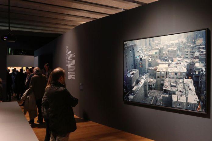 Marie Bovo 05h45, Bab-el-Louk, 2007 - Scénographie Mucem Exposition Connectivites Nov 2017 (c)Agnes Mellon Mucem