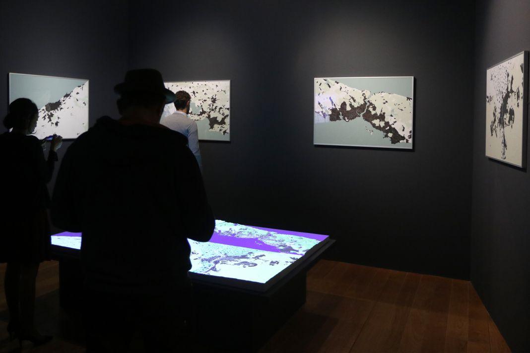 ENSA-M, La Fabrique du territoire, 2017 - Scénographie Mucem Exposition Connectivites Nov 2017 (c)Agnes Mellon Mucem