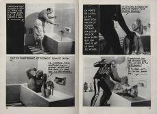Extrait du magazine Satanik n°16, Assassinat d'un président, France, 1967. Collection particulière. Cliché: © Josselin Rocher