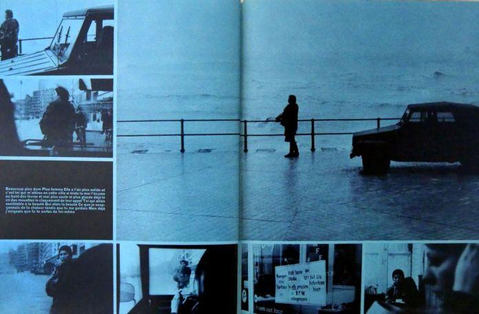 Extrait de Deux, de Jacques Monory (images) et Franck Venaille (texte), Paris, 1973. Collection de l'artiste Jacques Monory © Adagp, Paris, 2017. Cliché : Josselin Rocher