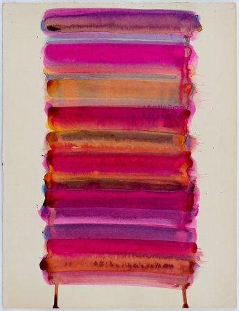 Jean-Michel Meurice, Hydra 11,1961. encre sur carton, 32 x 25 cm, don de l'artiste, 2015, inv. 2015.8.4 © Musée Fabre de Montpellier Méditerranée Métropole - photographie Frédéric Jaulmes
