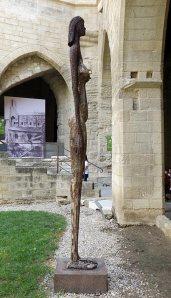 Ndary Lo, Egypte 2, 2002. Exposition Les Eclaireurs - Cloître Beboît XII - Palis des Papes
