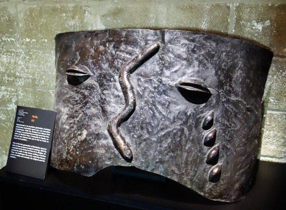 Siriki Ky, Masques 1, 2007. Les Eclaireurs - Salle du Consistoire, Palais des Papes