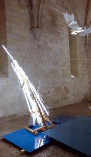 Wim Botha, Solipsis, 2016. Les Eclaireurs - Salle du Trésor bas, Palais des Papes