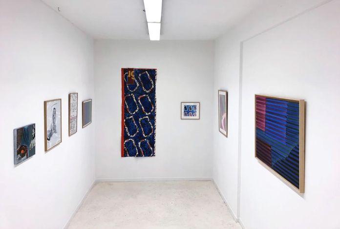 «Supports-surfaces, et après...» à la galerie Clémence Boisanté - Vincent Bioulès, Pierre Buraglio, Claude Viallat, Jean-Michel Meurice