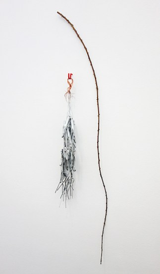 Alice Channer, Mechanoreceptor, Tendrils, 2016 - Crash test à La Panacée, Montpellier