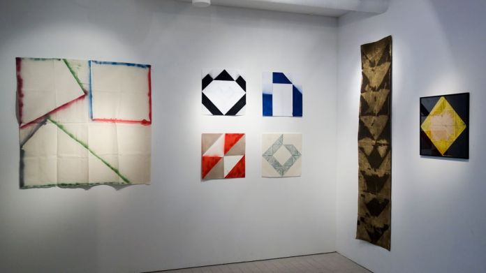 André-Pierre Arnal à la galerie Clémence Boisanté, vue de l'exposition