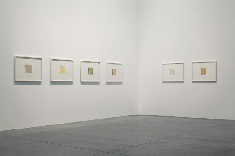 Callum Innes, In Position, Château La Coste - vue de l'exposition © 2018 Kerlin Gallery