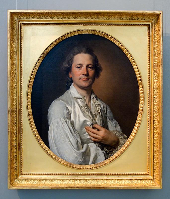 Joseph Siffred Duplessis, Portrait d'Abraham Fontanel, vers 1779 - Le Musée avant le Musée au Musée Fabre