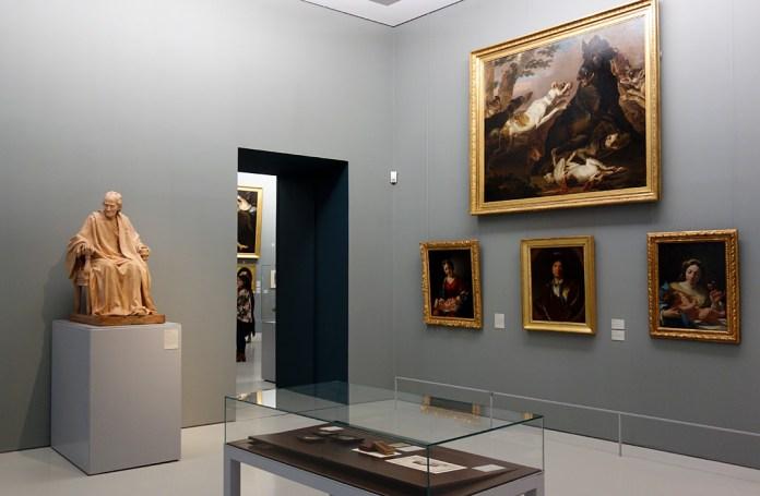 Le Musée avant le Musée au Musée Fabre - «Au rendez-vous des artistes»; La Boutique d'Abraham Fontanel