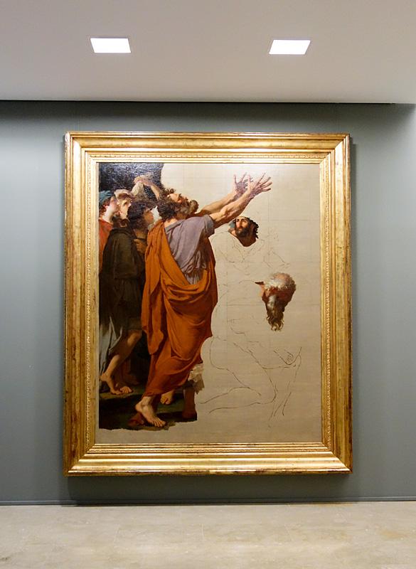 Le Musée avant le Musée au Musée Fabre - François-Xavier Fabre; héritier de la Société des beaux-arts