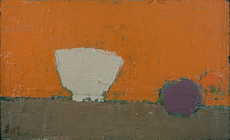 Nicolas de Staël, Bol Blanc, 1953, huile sur toile, 32,3 x 54,6 cm, CR 750, Cincinnati Art Museum, Bequest of Mary E. Johnston, 1967. 1108 © Adagp, Paris, 2018, photo : © Cincinnati Art Museum