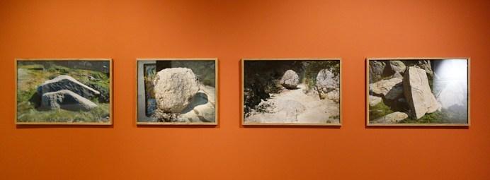 Pascal Fayeton, Mémoriaux, 2017 - Vue de l'exposition «4 à 4» au Musée Paul Valéry - Sète
