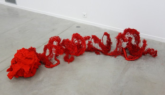 Phillip Zach, Seeing Red II, 2019 - Crash test à La Panacée, Montpellier