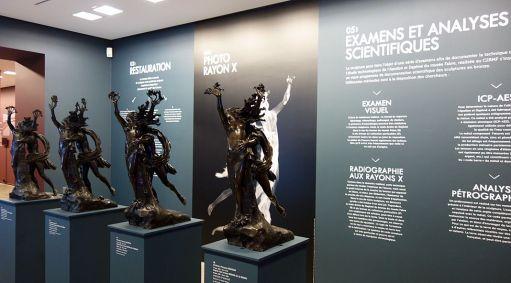 Dans le Secret des œuvres d'art au Musée Fabre - La reproductibilité à l'âge classique - les bronzes d'Apollon et Daphné d'après Le Bernin